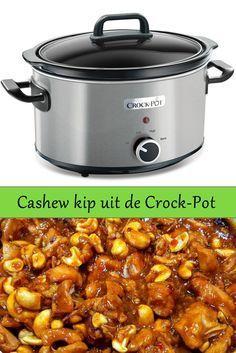 Recipe in Dutch: Cashew kip uit de slow cooker of uit de oven