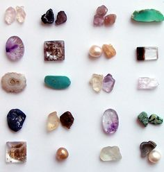 Gorgeous stones from Midwest Alchemy.