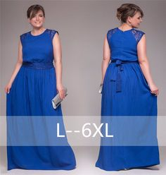(Free shipping)Large size woman dresses solid color sleeveless stitching  round neck dress dress lady dress Plus size B81367-in Dresses from Women s  Clothing ... 224eef379b08