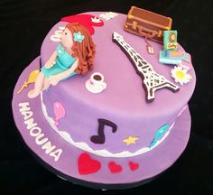A lifestyle cake for a special one :)