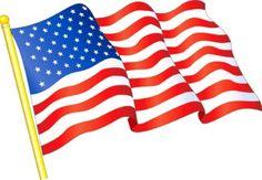 American flag clipart free usa flag
