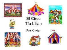 El circo by Lilian, via Slideshare Kids Rugs, Paper, Clowns, Christians, Preschool, Winter, Games, Kid Friendly Rugs, Nursery Rugs