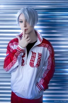 cosplay Victor Nikiforov (yuri!!! on ice)