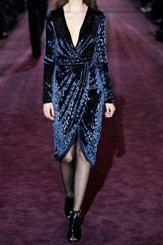 Gucci leopard velvet dress