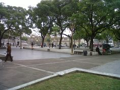 Plaza Once, a las diez