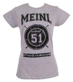 Meinl, Meinl Cymbals, Cymbals, Meinl Percussion, Percussion, Meinl Merchandise, Merchandise, Meinl T-Shirt, T-Shirt, Meinlshop, Meinl Shop, Girlie, Girlie T-Shirt, Meinl Girlie, Modellnummer: M41