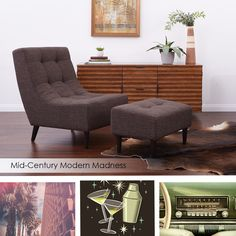There is something comforting about the timeless grace of mid-century modern style. #midcenturymodern #interiordesign #FurnishYourLifestyle