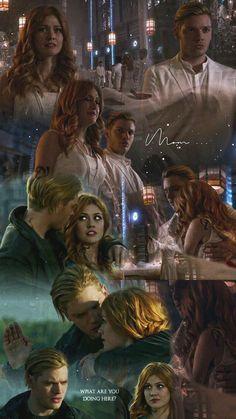 Clary et Jace Clary Fray, Clary Et Jace, Clace Shadowhunters, Shadowhunters The Mortal Instruments, Jace Wayland, Constantin Film, Owen Hunt, Dance Music, Divergent Funny