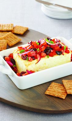 "You don""t need to have a green thumb to master this Garden Baked Feta recipe."