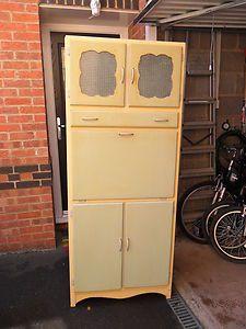 Vintage Kitchen Cabinet   eBay