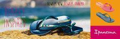 Ipanema metallic III fem wit - Ipanema slippers