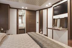 Internal view Ferretti Yachts - Ferretti 870 #yacht #luxury #ferretti