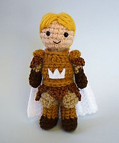 Jaime Lannister From The Game of Thrones Crochet Pattern (pay $3.70)