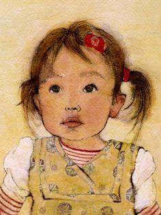 art_felishino_portraits....._liona Felicia Hoshino, an illustrator, graphic and book designer in San Francisco