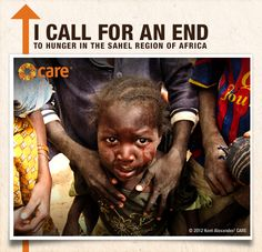 Repin this photo if you call for an end to hunger in the Sahel!