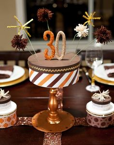 Decorating ideas for chocolate party