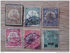 Kleines Altdeutschland Marken Lot - Kolonien - Samoa / Marshall-Inseln / Ostafrika / Südwestafrika , ...
