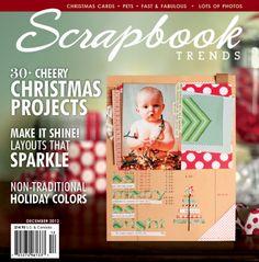 Scrapbook Trends Magazine Dec 2012 | Northridge Publishing