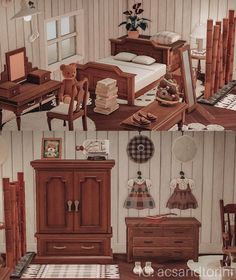 In love with the antique furniture set 😭💓 - AnimalCrossing