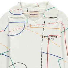 Bobo Choses Organic Cotton Ribbed Polo-listing