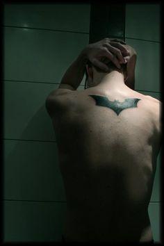 batman tattoo @Natalie Jost Jost Jost Birchett