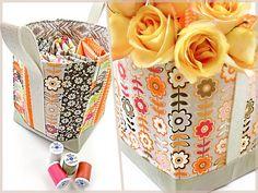 Tall Fabric Box-Baskets