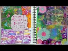 Mixed media fun gesso collage gelli info on Oriental Trading products