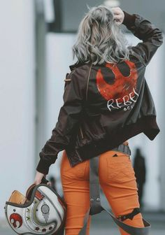 Sexy rebel pilot Star Wars cosplay - Star Wars Women - Ideas of Star Wars Women women - Sexy rebel pilot Star Wars cosplay Cosplay Star Wars, Star Wars Costumes, Cadeau Star Wars, Star Wars Outfits, Star Wars Girls, Ewok, Star Wars Rebels, Halloween Disfraces, Star Wars Art