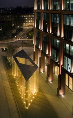 Regent's Place Pavilion in London by Carmody Groarke
