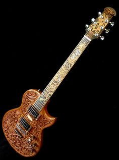 "Blueberry ""Hawk & Dragon"" Electric Guitar"