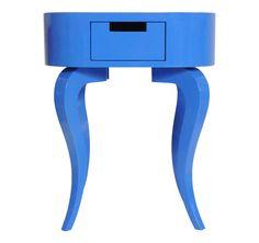 Criado Oval Cabriolet Azul