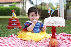 Smash the Cake - Snow White