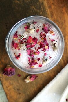 Rose Petal Bath Salts - Living La Vida Holoka