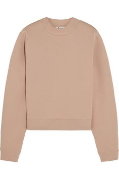 Acne Studios Bird cotton-blend jersey sweatshirt $220