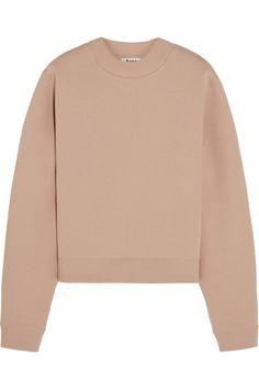 Acne Studios Bird cotton-blend jersey sweatshirt $220