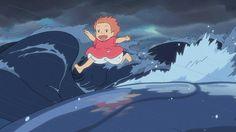 Ponyo sur la falaise, 2008.