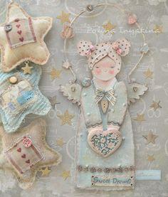 Когда не делаю кукол - делаю что - нибудь другое #ангел#sweetdreams#ручнаяработа100%#делаюслюбовью