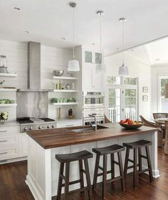 Shiplap Kitchen | Real estate site Zillow rounded up this year's favorite designs.