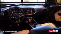 2015 Dodge Challenger SRT Hellcat interior presentation 2015 Dodge Challenger, Dodge Challenger Srt Hellcat, Dodge Srt, My Dream Car, Dream Cars, Ferdinand The Bulls, Interior Presentation, 2015 Dodge Charger, Canal E