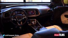 2015 Dodge Challenger SRT Hellcat interior presentation