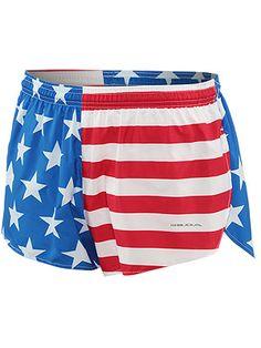 USA, USA, USA! Mens running shorts