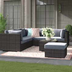 Free delivery over to most of the UK ✓ Great Selection ✓ Excellent customer service ✓ Find everything for a beautiful home Rattan Corner Sofa Set, Rattan Sofa, Grey Corner Sofa, Garden Furniture Sets, Garden Sofa, Outdoor Furniture Sets, Table Seating, Dining Table, Adjustable Table