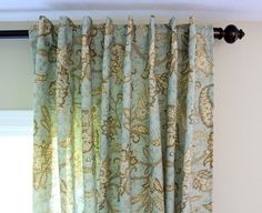 "GREAT idea!  Thinking of using tablecloths (108""-120"" lengths) to make my tall curtains on a budget."
