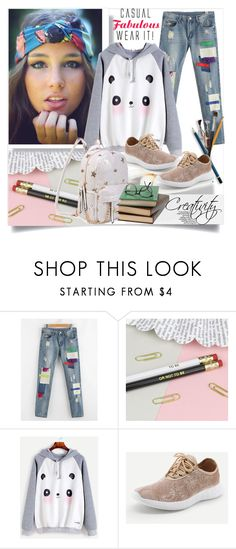 """SHEIN II/8"" by creativity30 ❤ liked on Polyvore featuring shein"