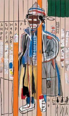 anthony clarke - jean-michel basquiat, 1985