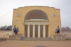 The Museum of Russian Estate Culture at Vlakhernskoye-Kuzminki estate in Moscow (1831). Architect: Domenico Gilardi.