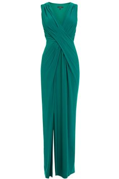 A gorgeous jersey maxi dress draped to fit and flatter the feminine figure. The Mona Jersey Maxi Dress features a deep V neckline sculpting the shoulders and softly follows the curves of your waistline. The dress features a side split in the skirt for effortless movement.