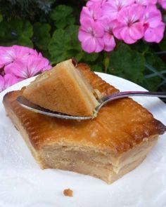 Gâteau pudding aux petits beurre et pommes - Chez Vanda - Apfel Kuchen Keto Pudding, Avocado Pudding, Pudding Cake, Chia Pudding, Mousse Au Chocolat Torte, Chez Vanda, Caviar Recipes, Compote Recipe, Malva Pudding