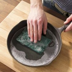 The Easy Way to Restore a Rusted Cast-Iron Skillet Iron Skillet Recipes, Cast Iron Recipes, Skillet Meals, Skillet Cooking, What's Cooking, Cooking Tools, Rusted Cast Iron Skillet, Restore Cast Iron, Cast Iron Care