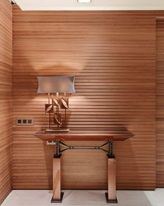 """Ariel Console - Mine Arslanbek furniture design for a residential project's entry hall…"" #minearslanbek #furniture #console #interiordesign #luxury #sycamore #walnut"